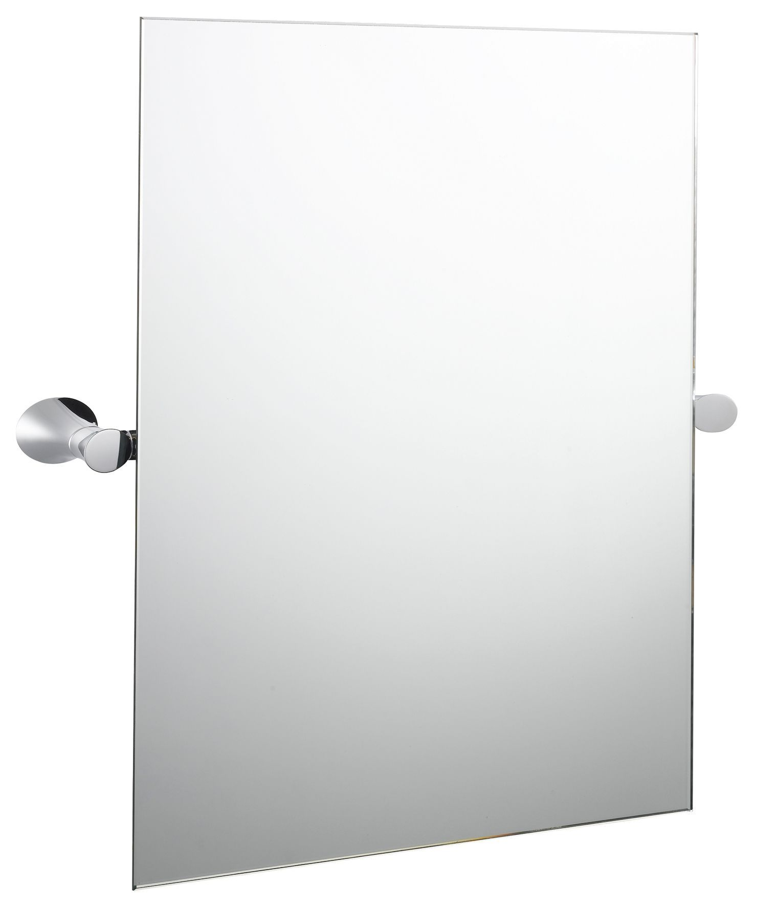 Bu0026q Infinity Rectangular Wall Mirror (w)400mm (h)500mm