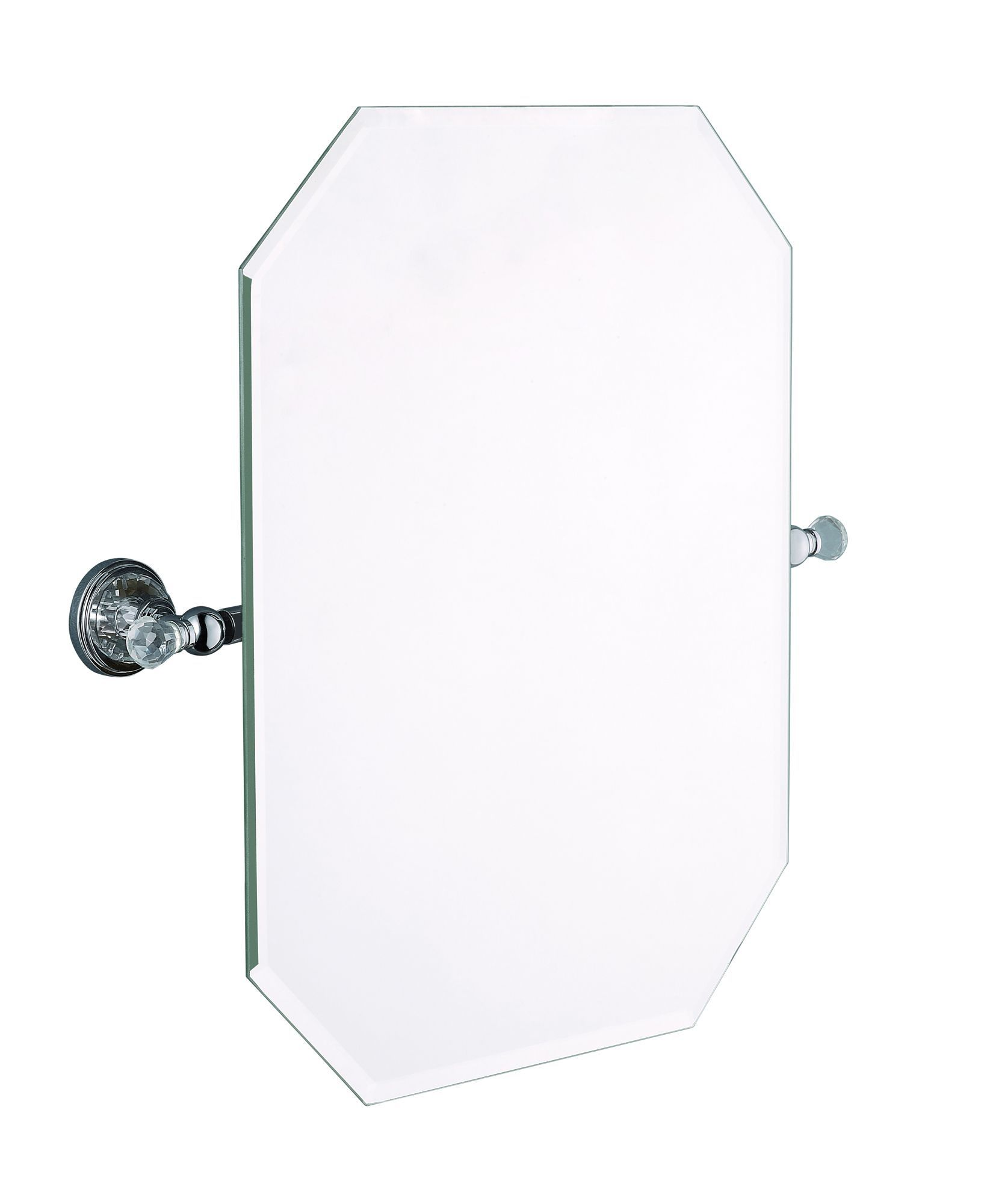 Cooke and lewis bathroom mirrors - Cooke Lewis Eva Octagon Wall Mirror W 500mm H 507mm Departments Diy At B Q