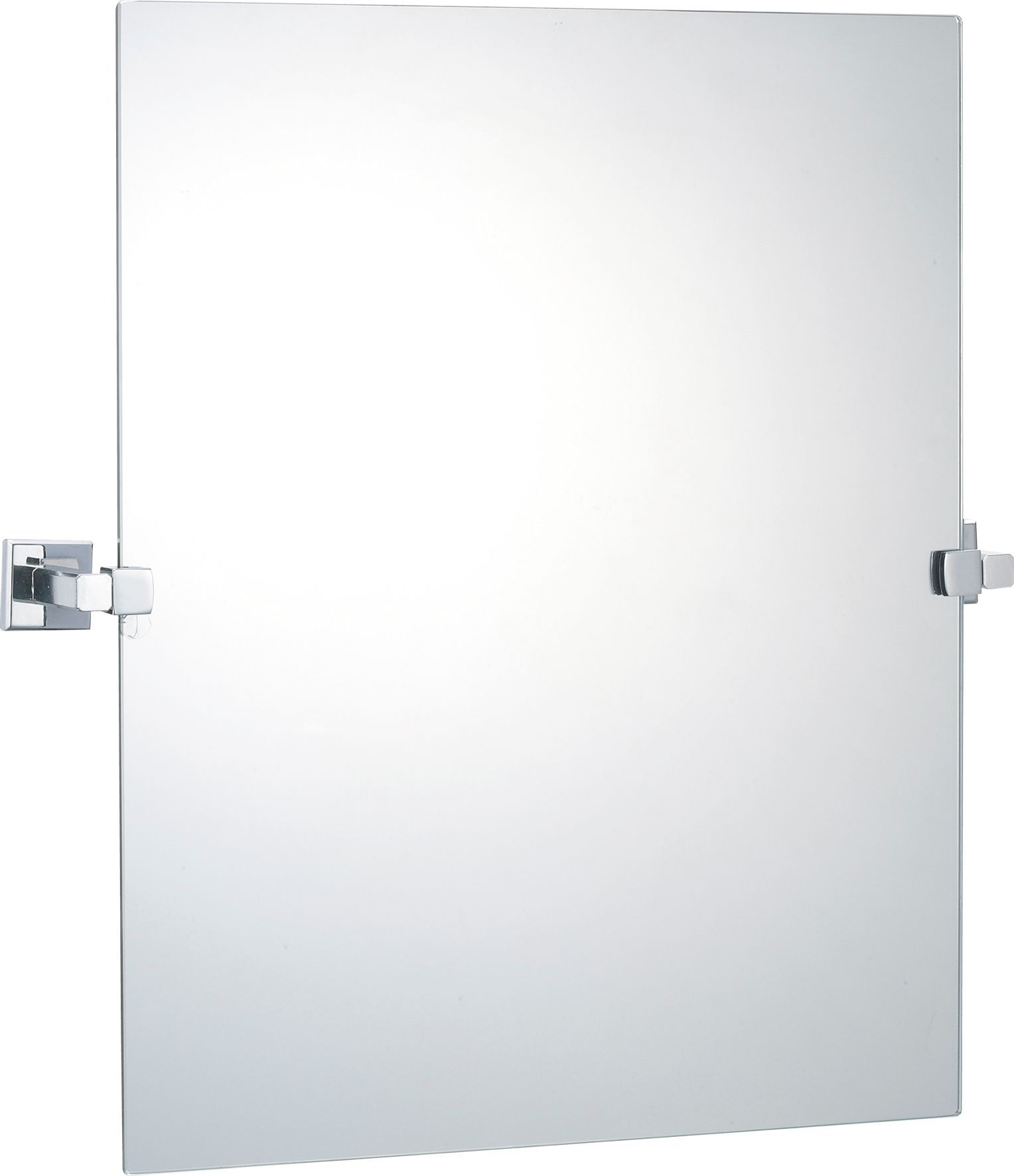 BQ Linear Square Wall Mirror W470mm H500mm