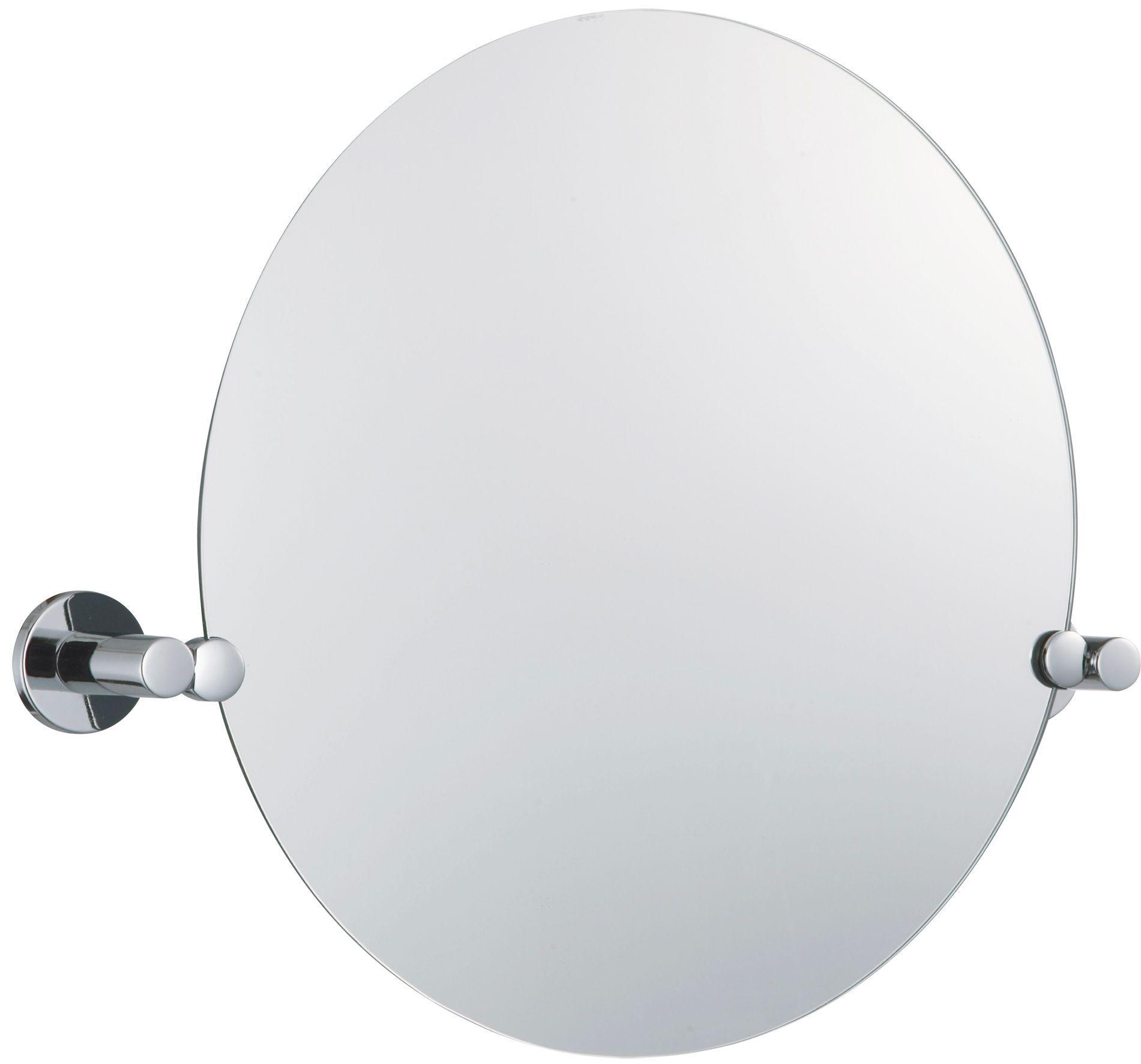 Bathroom Mirrors B&Q b&q cirque circular wall mirror (w)450mm (h)550mm | departments