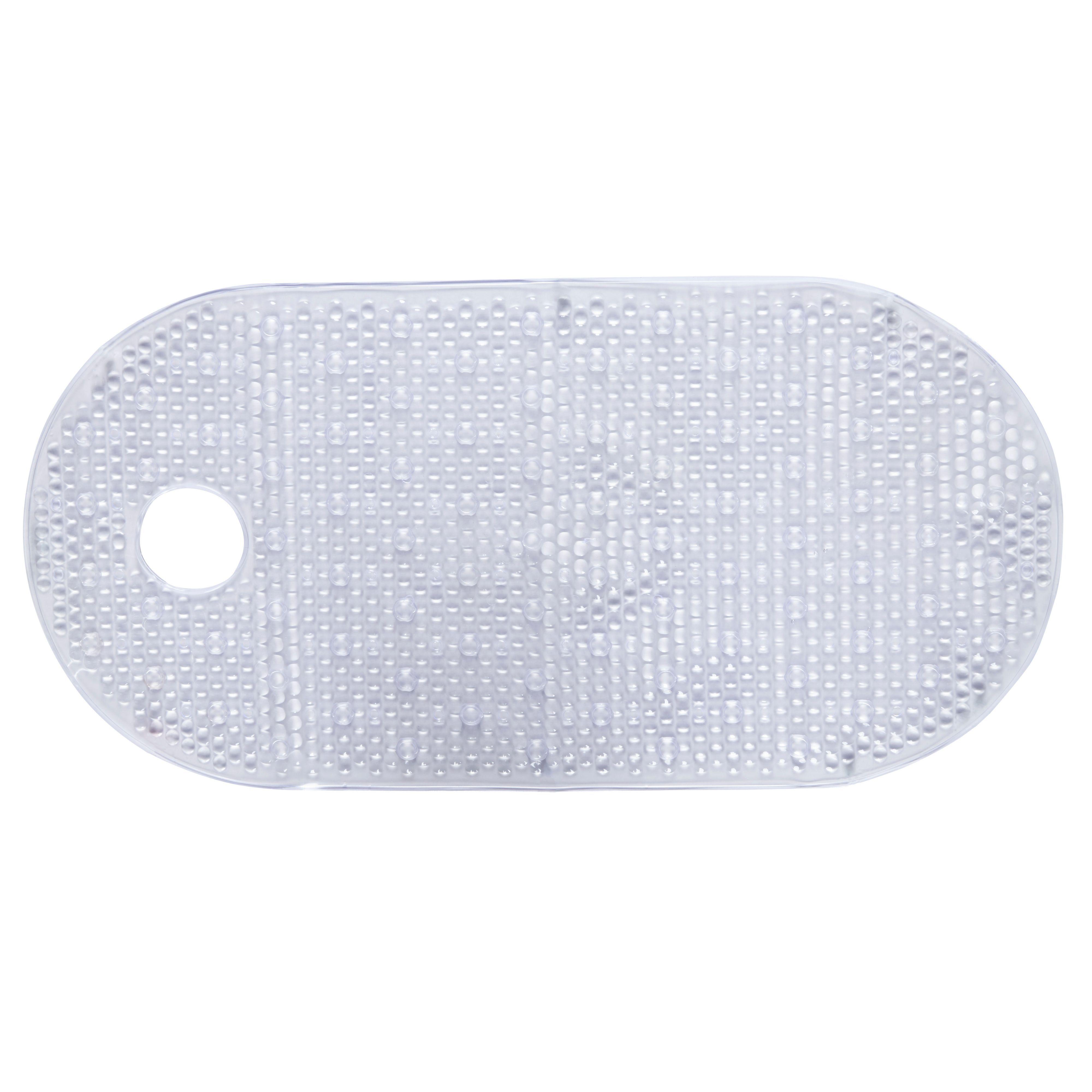 Floor mats b q - B Q Clear Pvc Anti Slip Bath Mat L 0 8m W