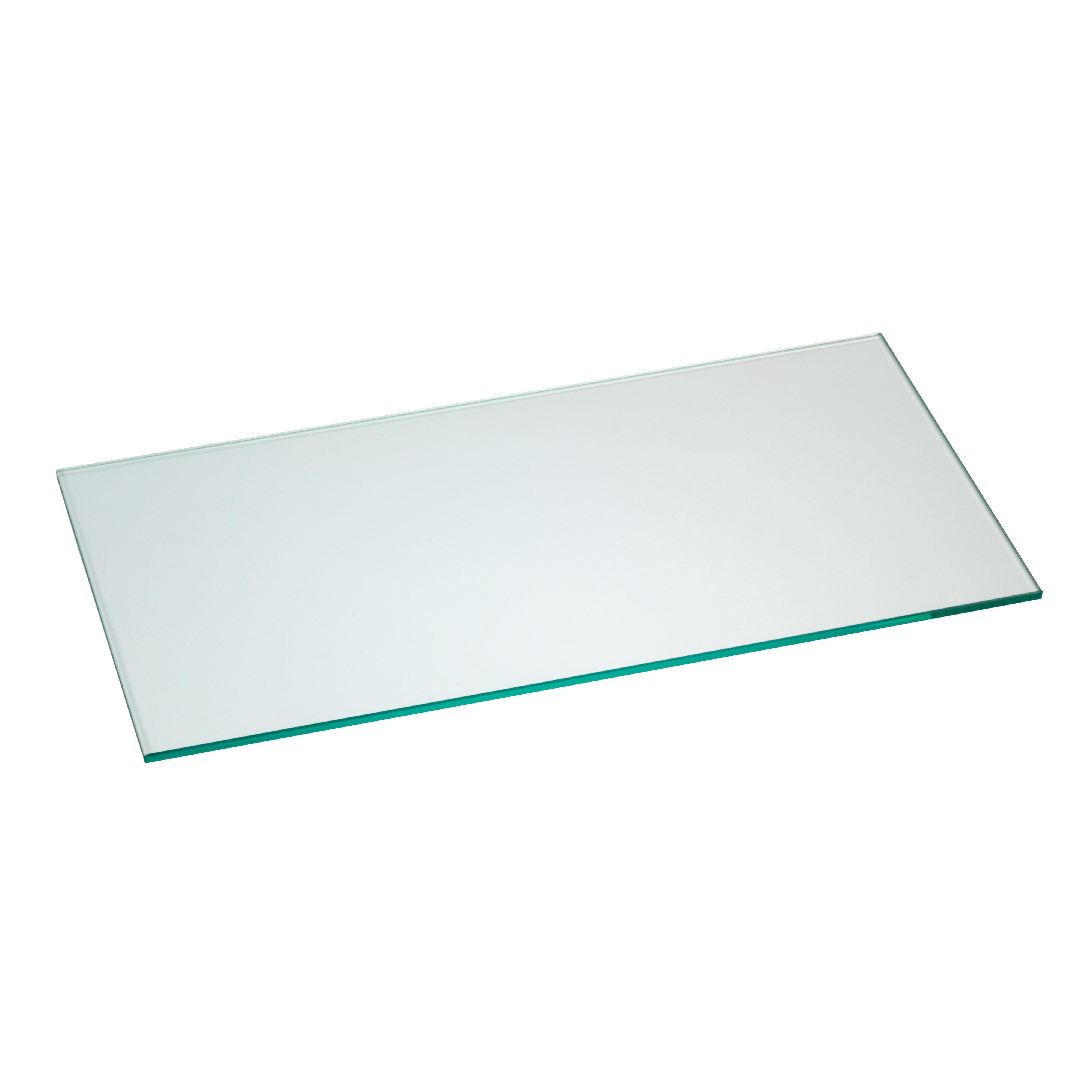 Clear Glass Shelf (l)451mm (d)220mm