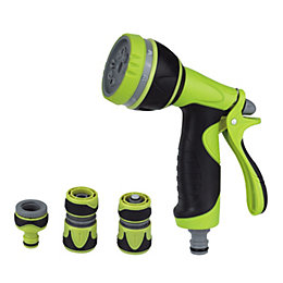 Verve Black & Green Multifunction Spray Gun Starter