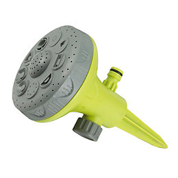 Verve Green & Grey 9 Pattern Spiked Sprinkler