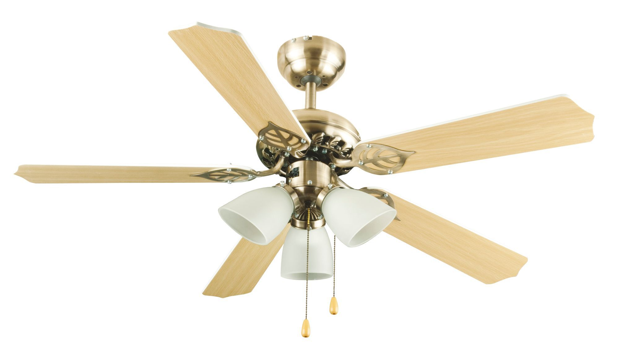 Carolina Gold Ceiling Fan Light Departments Diy At B Amp Q