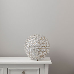 Avril Crystal Effect Table Lamp