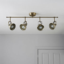 Waverley Gold 4 Lamp Bar Spotlight