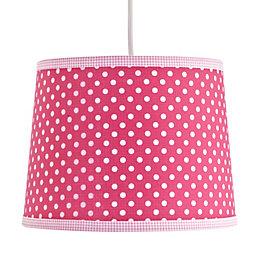 Colours Suisei Pink Polka Dot Light Shade (D)26cm