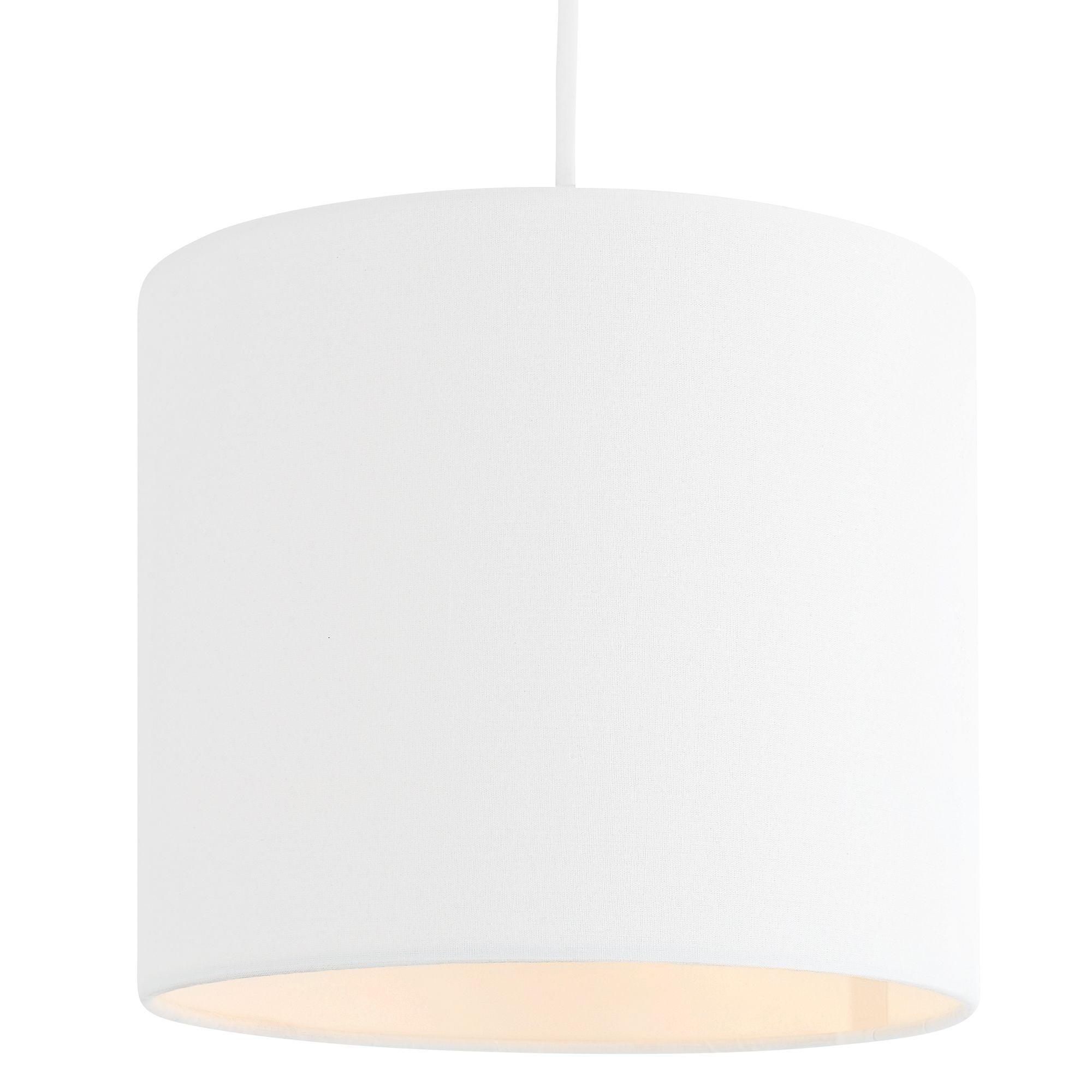 Diy at bq colours haymarket white light shade d200mm aloadofball Choice Image