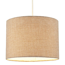 Colours Harstad Beige Woven Light Shade (D)30.5cm