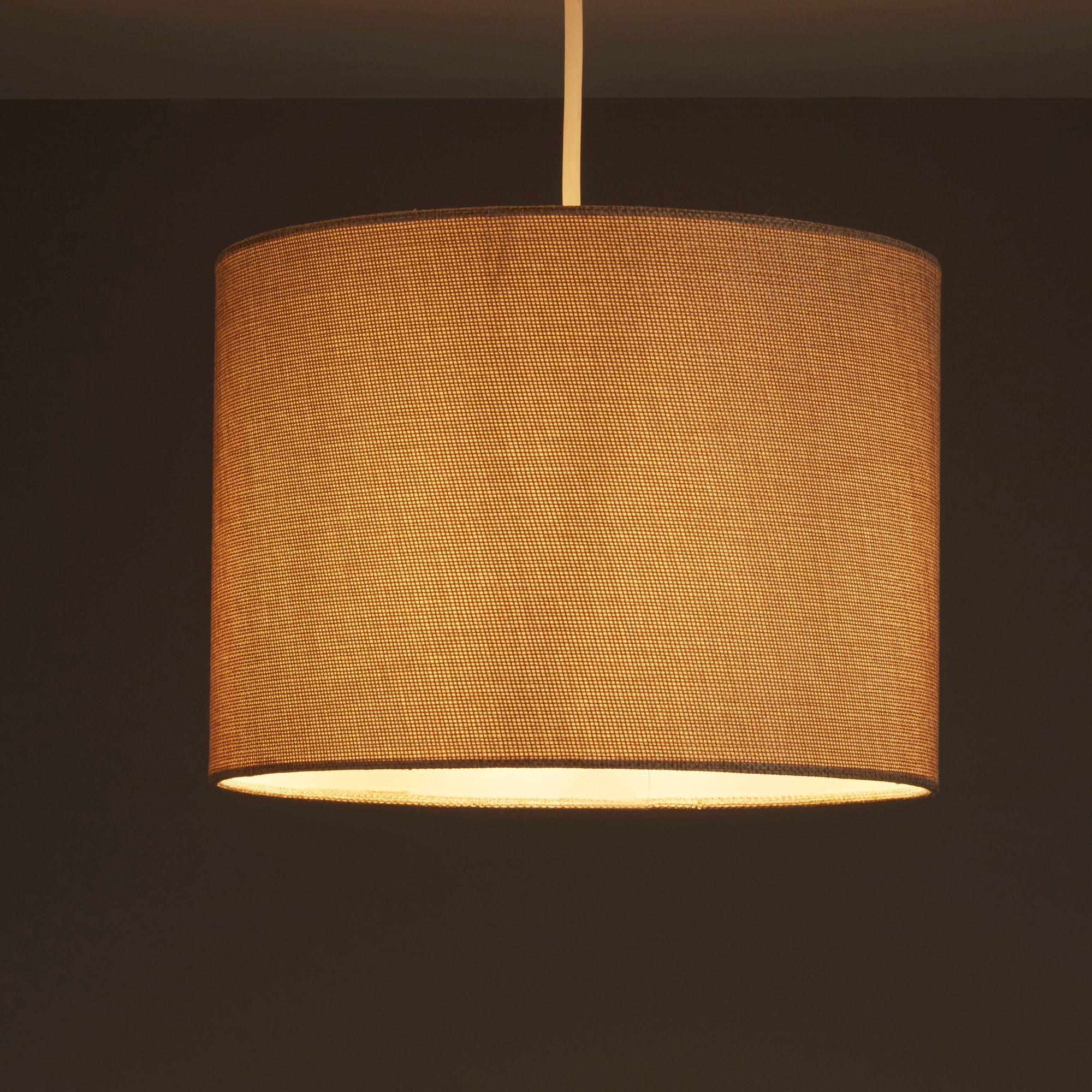 Colours Harstad Beige Woven Light Shade (d)305mm