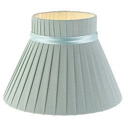 Colours Carme Light Green Ribbon Light Shade (D)20cm