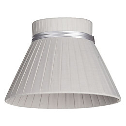 Colours Carme Grey Ribbon Light Shade (D)20cm