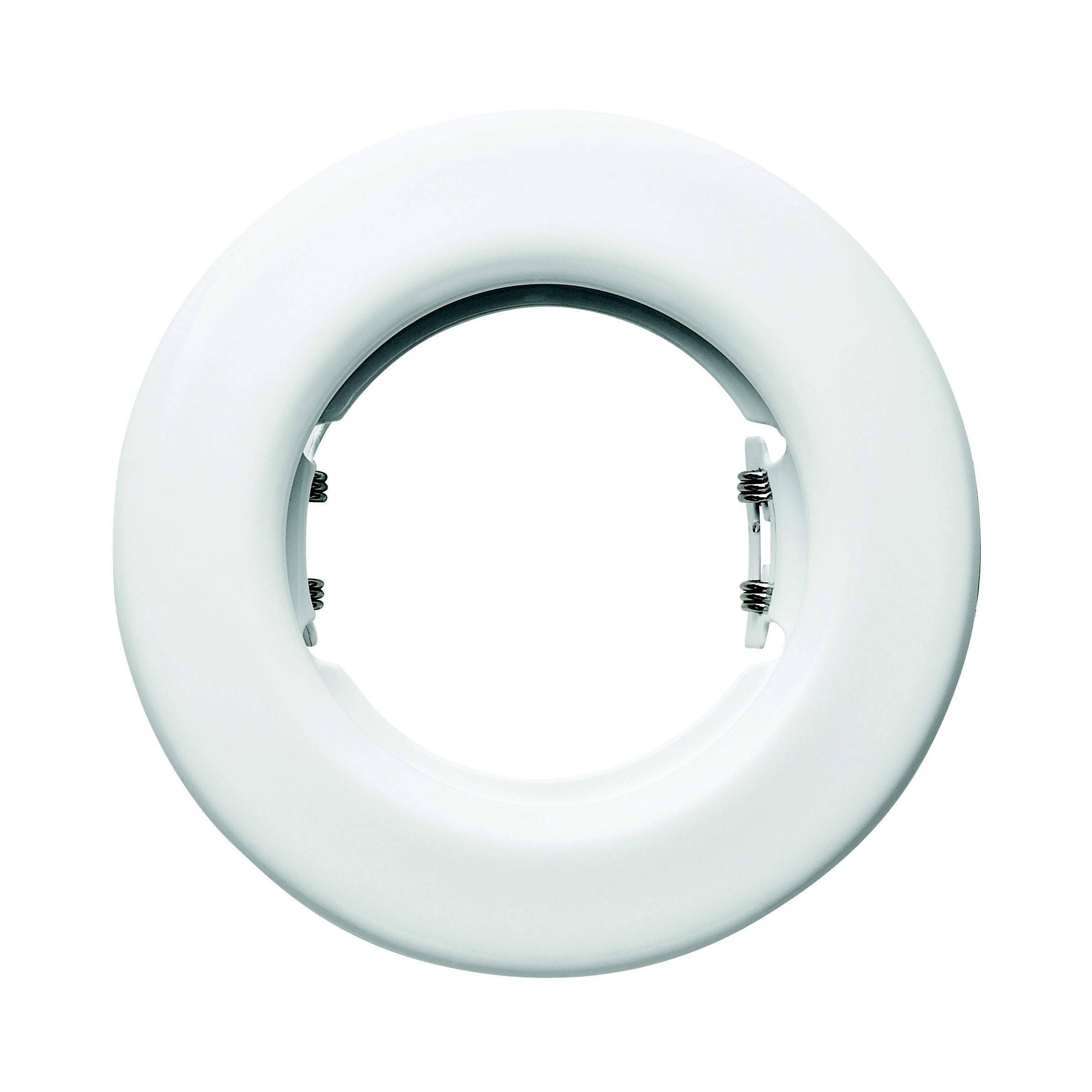 Lap White Gloss Fixed Mains Voltage Downlight