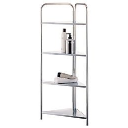 Cooke & Lewis Bank Corner Shelving Unit (H)960mm