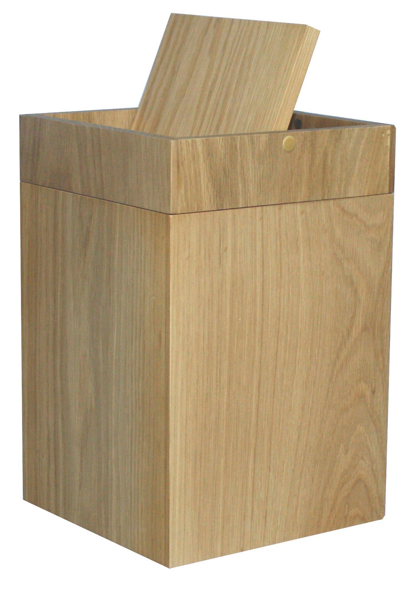 cooke & lewis spa oak effect mdf square kitchen swing bin