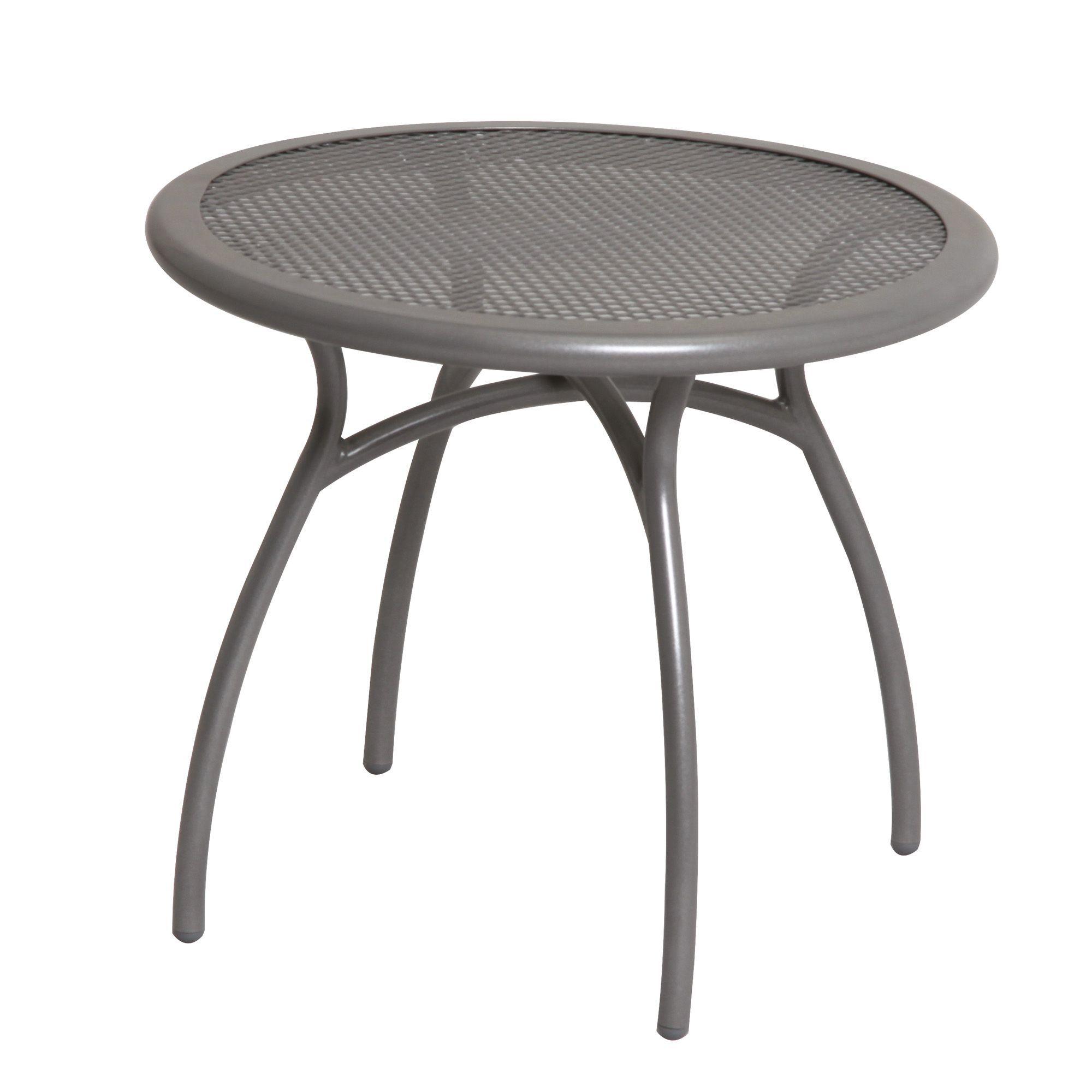 Coburg metal side table departments diy at b q for Diy metal end table