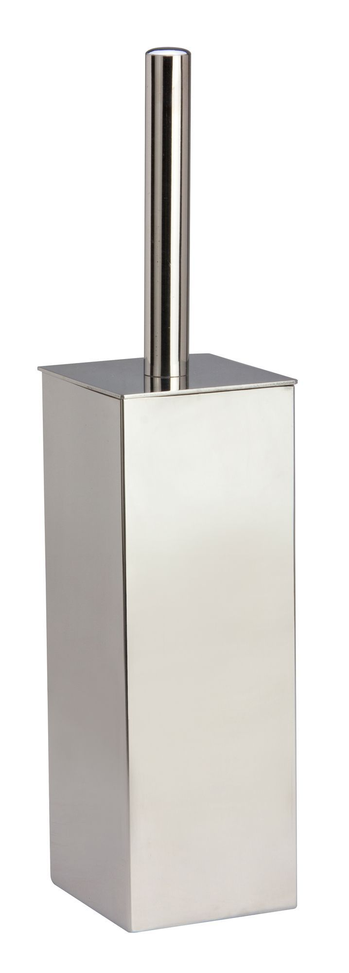 Cooke & Lewis Silver Chrome Effect Toilet Brush Holder