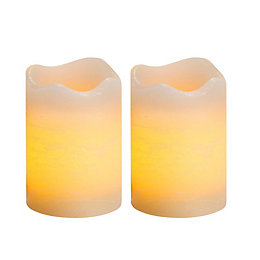 Inglow Flameless Votive Candles, Pack of 2