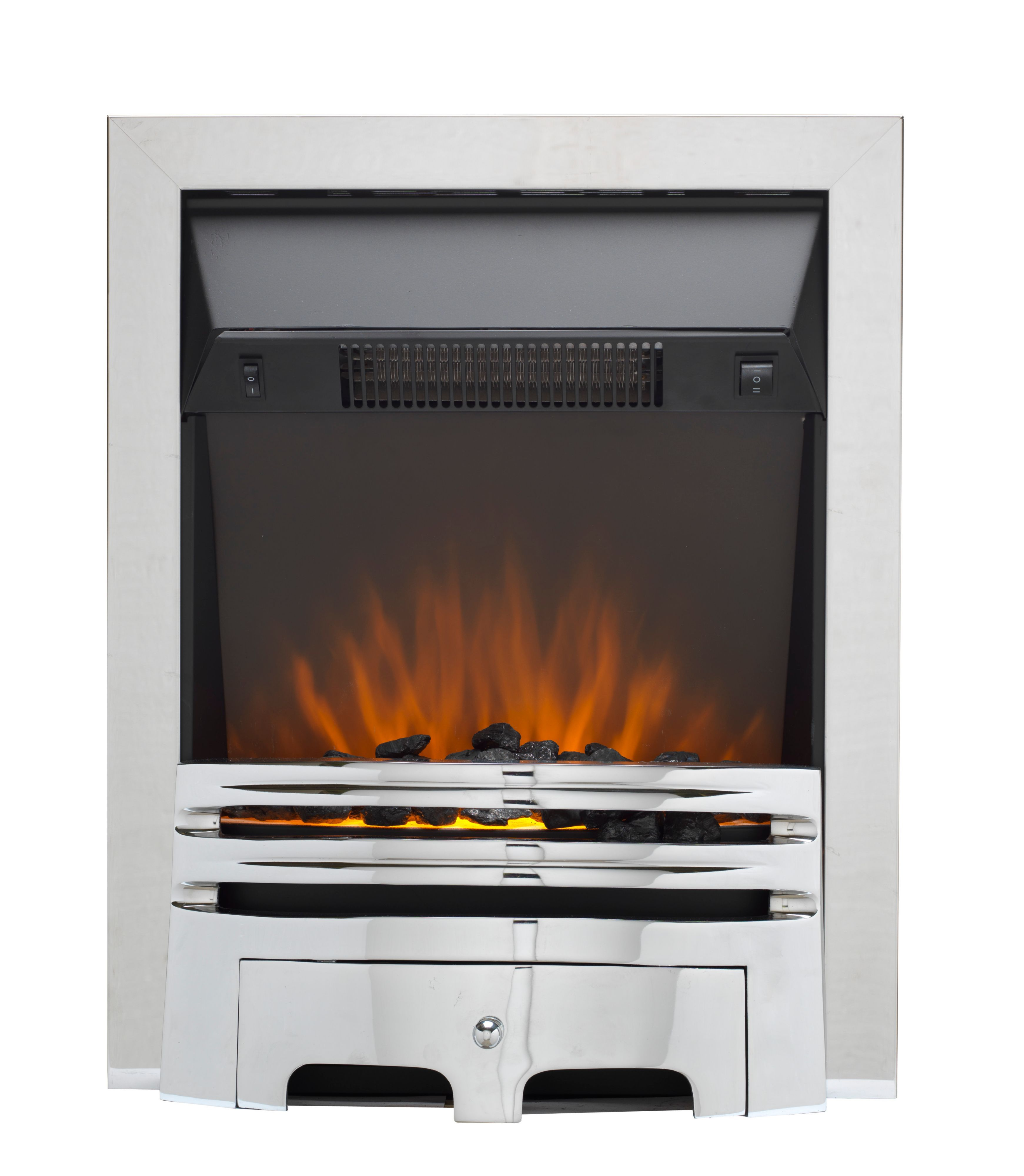Flame Effect Electric Fires Part - 35: Bu0026Q