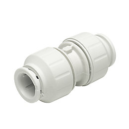 JG Speedfit Push Fit Straight Coupler (Dia)22 mm,