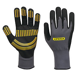 Stanley Large Nitrile Razor Gripper Gloves