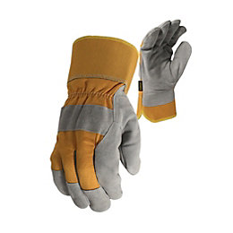 Stanley Large Leather & Fabric Winter Thermal Gloves