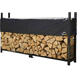 Shelterlogic Metal Log Store 8ft