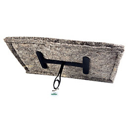 Chimney Sheep Oblong Chimney Draught Excluder, (D)12""
