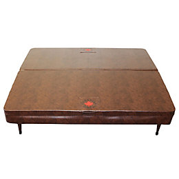 Canadian Spa Company Square Brown Spa Cover, (L)1900mm