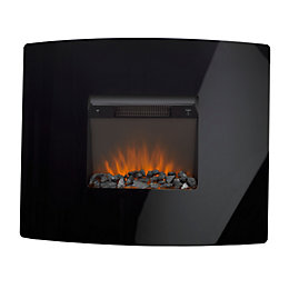 Ignite Pinnacle Black LED Electric Fire