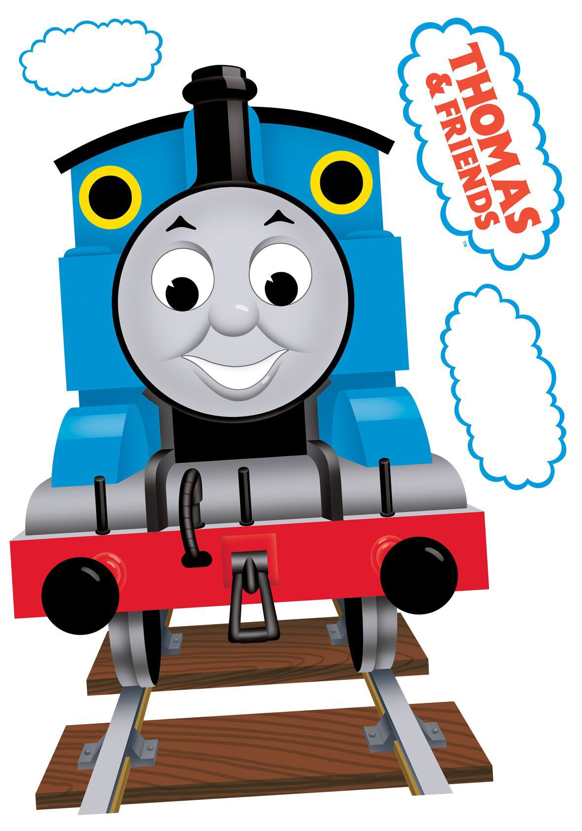 Fun4walls Thomas The Tank Engine Multicolour Self Adhesive