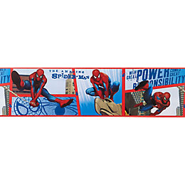 Marvel Spiderman Multicolour Border