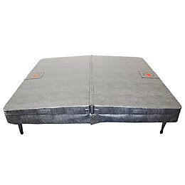 Canadian Spa Company Grey Spa Cover, (L)2180mm