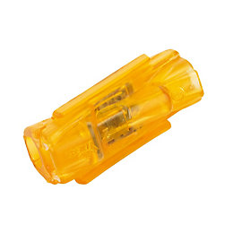 Ideal Orange 32A In-Line Wire Connector, Pack of