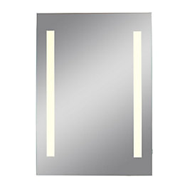 Lumino Escala Illuminated Bathroom Rectangular Mirror (W)45cm