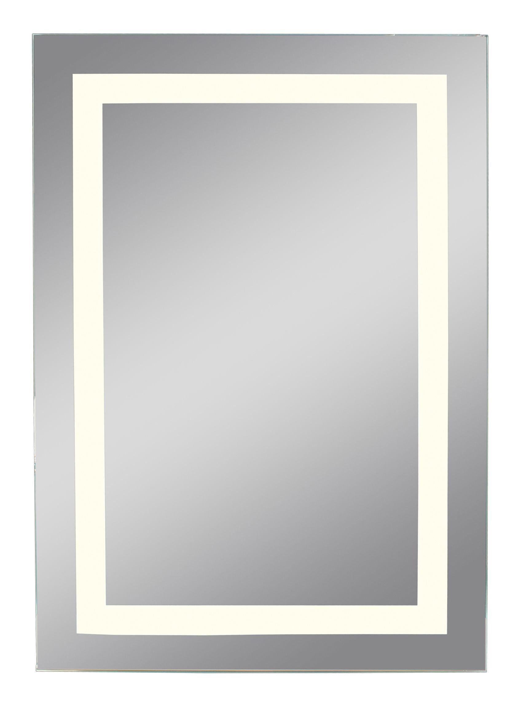 Lumino Trieste Illuminated Bathroom Rectangular Mirror (w)450mm (h)650mm