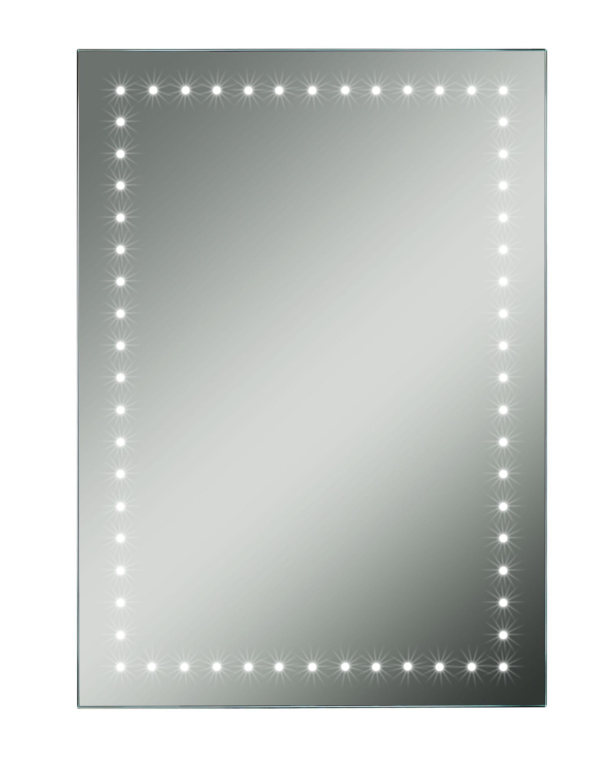 Lumino Fiorella Illuminated Bathroom Rectangular Mirror (w)450mm (h)650mm