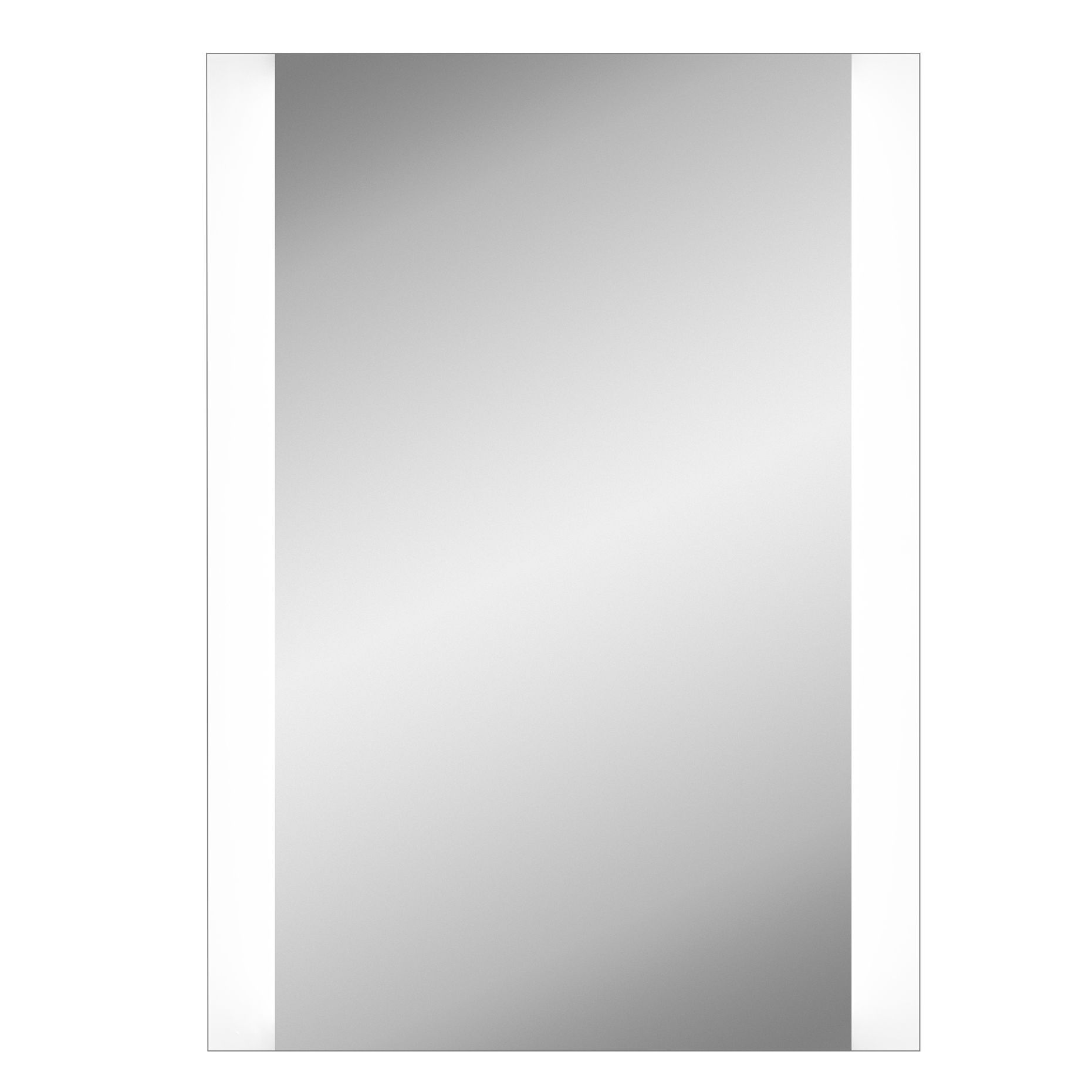 Lumino Ambiente Illuminated Bathroom Rectangular Mirror (w)500mm (h)700mm
