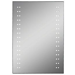 Lumino Aria Illuminated Bathroom Rectangular Mirror with Shaver