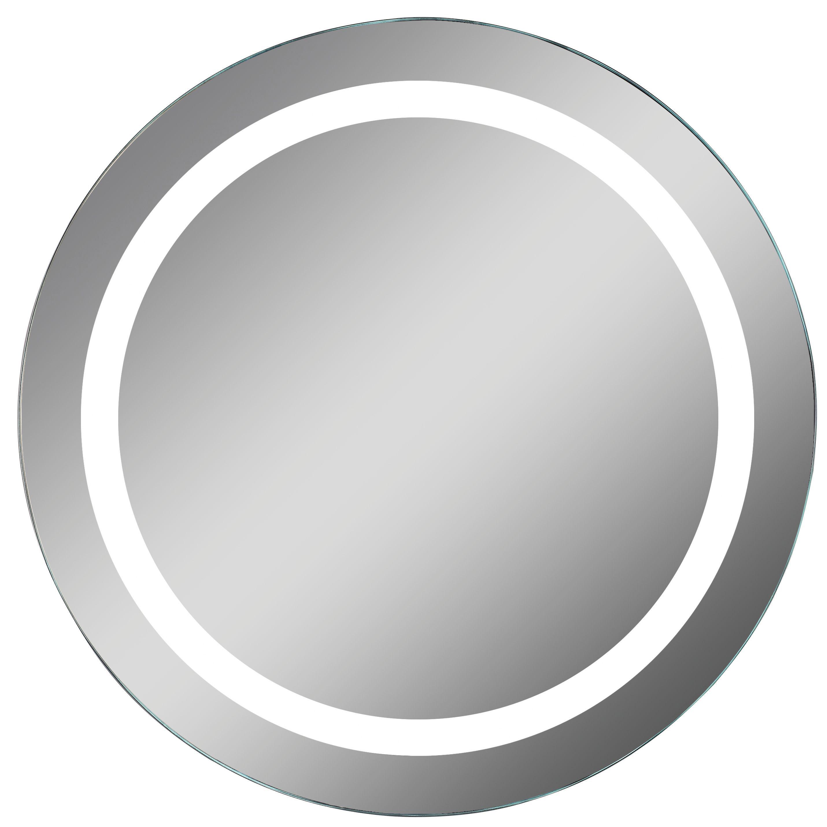 Lumino Celeste Illuminated Bathroom Circular Mirror W500mm