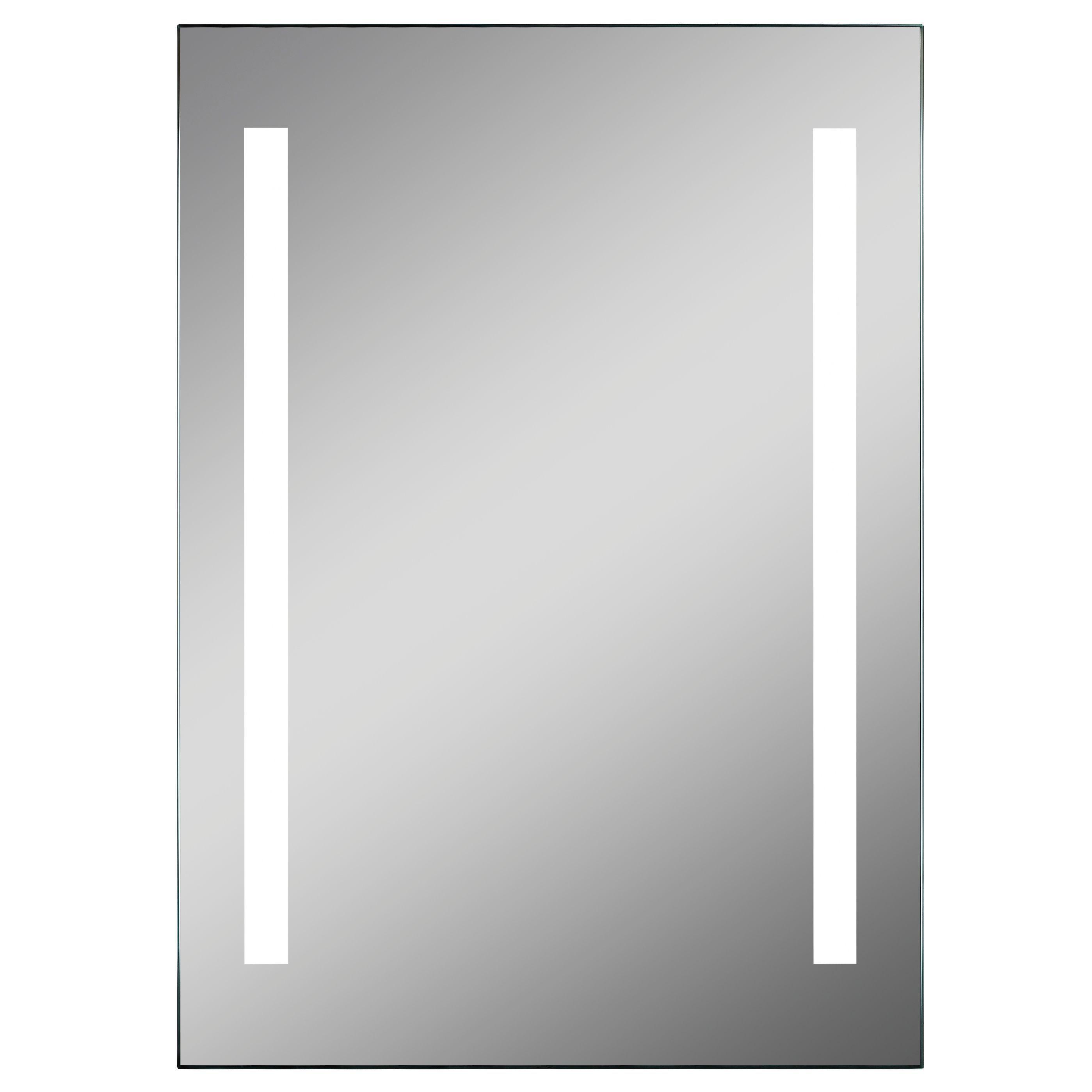 Bathroom Shaver Lights B&Q lumino pesanta illuminated bathroom rectangular mirror with shaver
