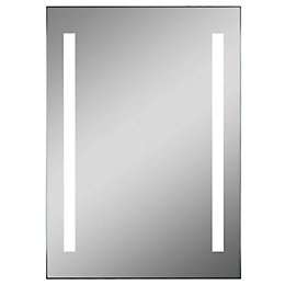 Lumino Pesanta Illuminated Bathroom Rectangular Mirror with