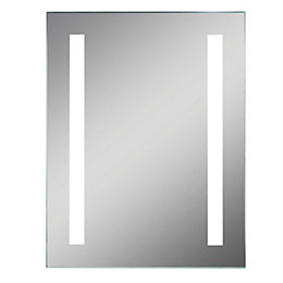 Lumino Clarino Illuminated Bathroom Rectangular Mirror with