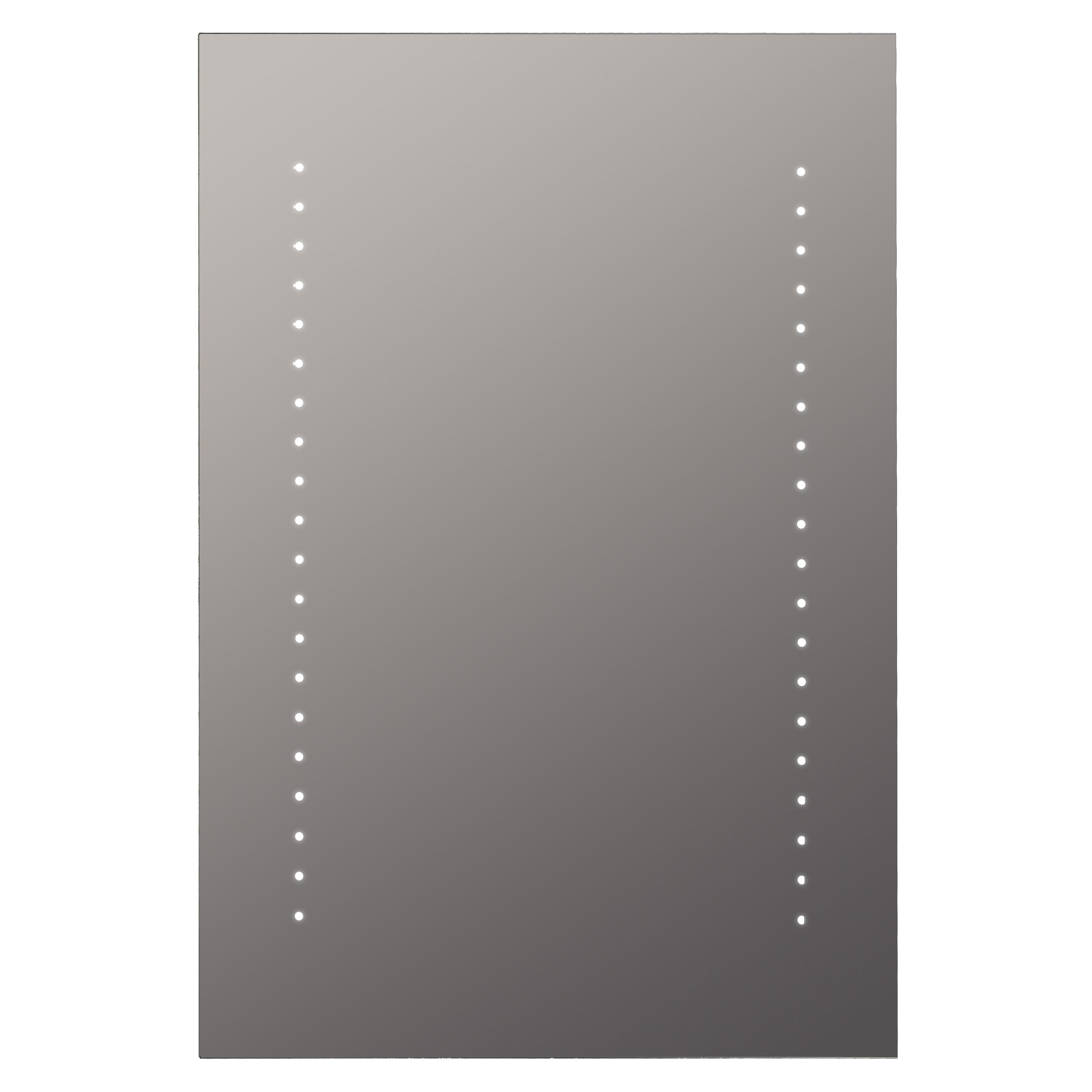 Lumino Arietta Illuminated Bathroom Rectangular Battery Powered Mirror (w)450mm (h)650mm