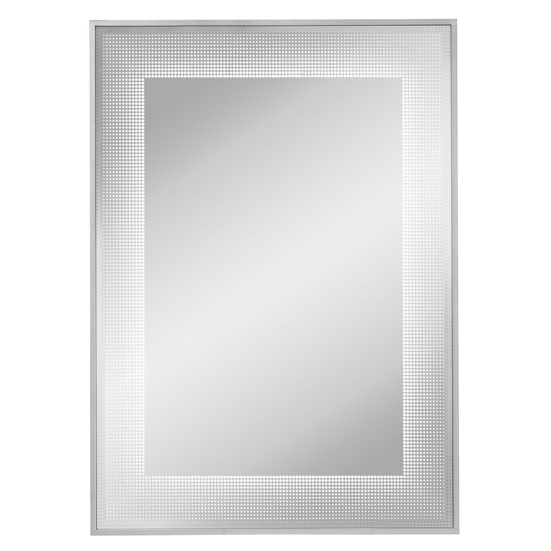 Lumino Cumulo Illuminated Bathroom Rectangular Mirror (w)500mm (h)700mm