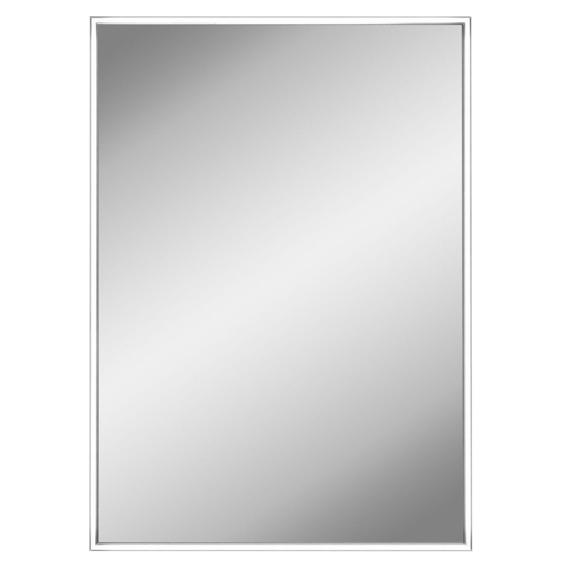 Lumino Futuro Illuminated Bathroom Rectangular Mirror (w)500mm (h)700mm