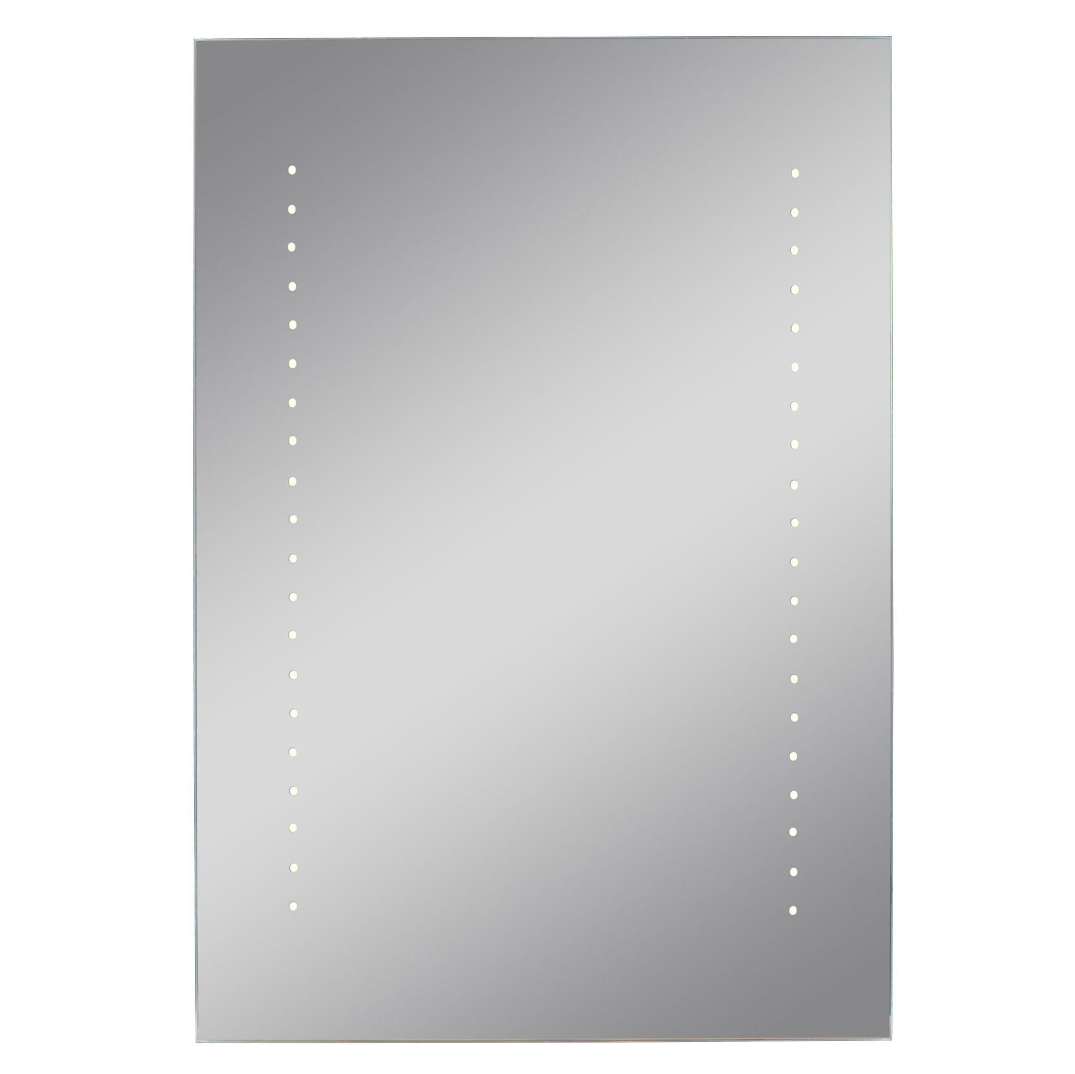 Lumino Aurano Illuminated Bathroom Rectangular Mirror (w)450mm (h)650mm