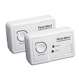 First Alert LED Display Co Alarm, Pack of