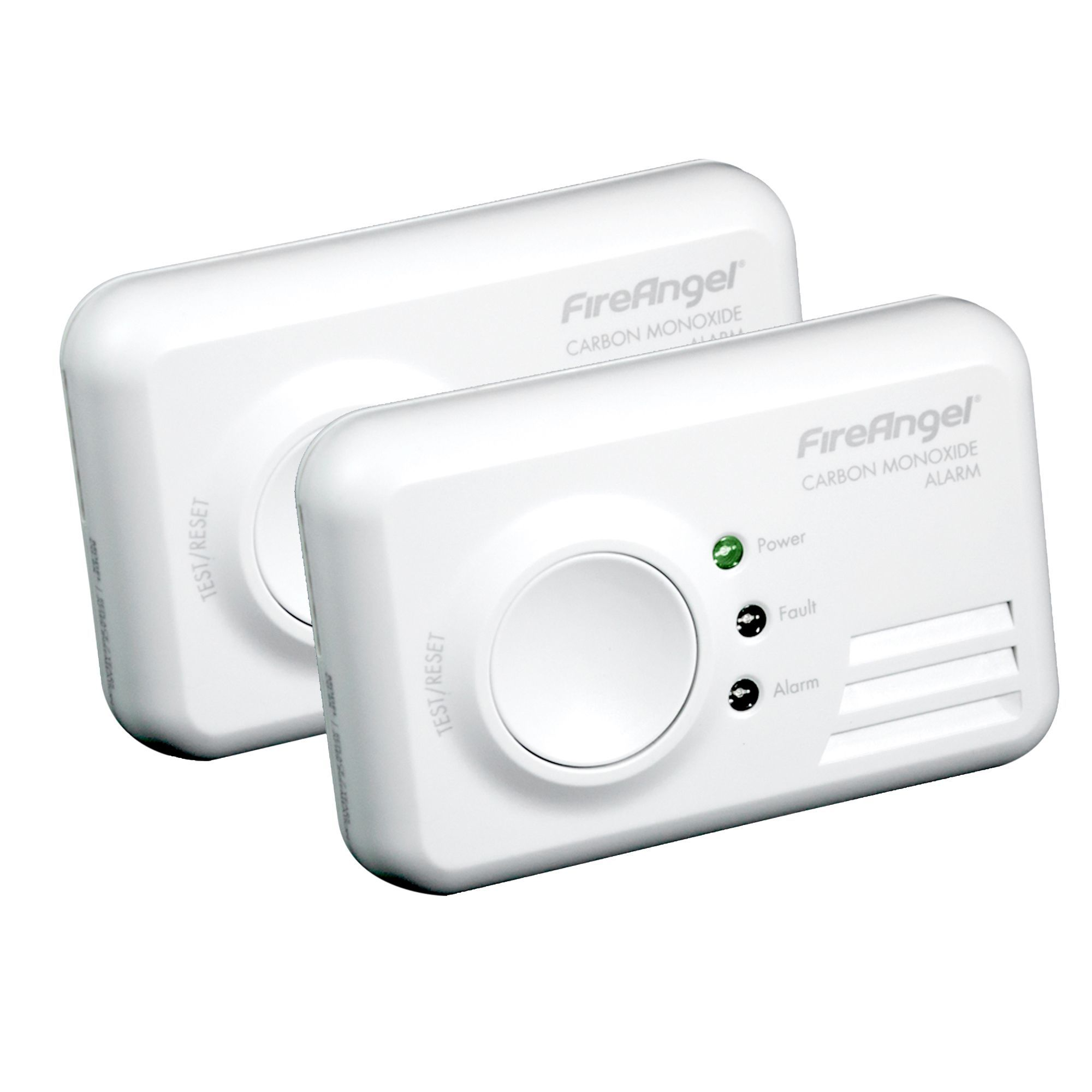 Fireangel Led Display Co Alarm, Pack Of 2